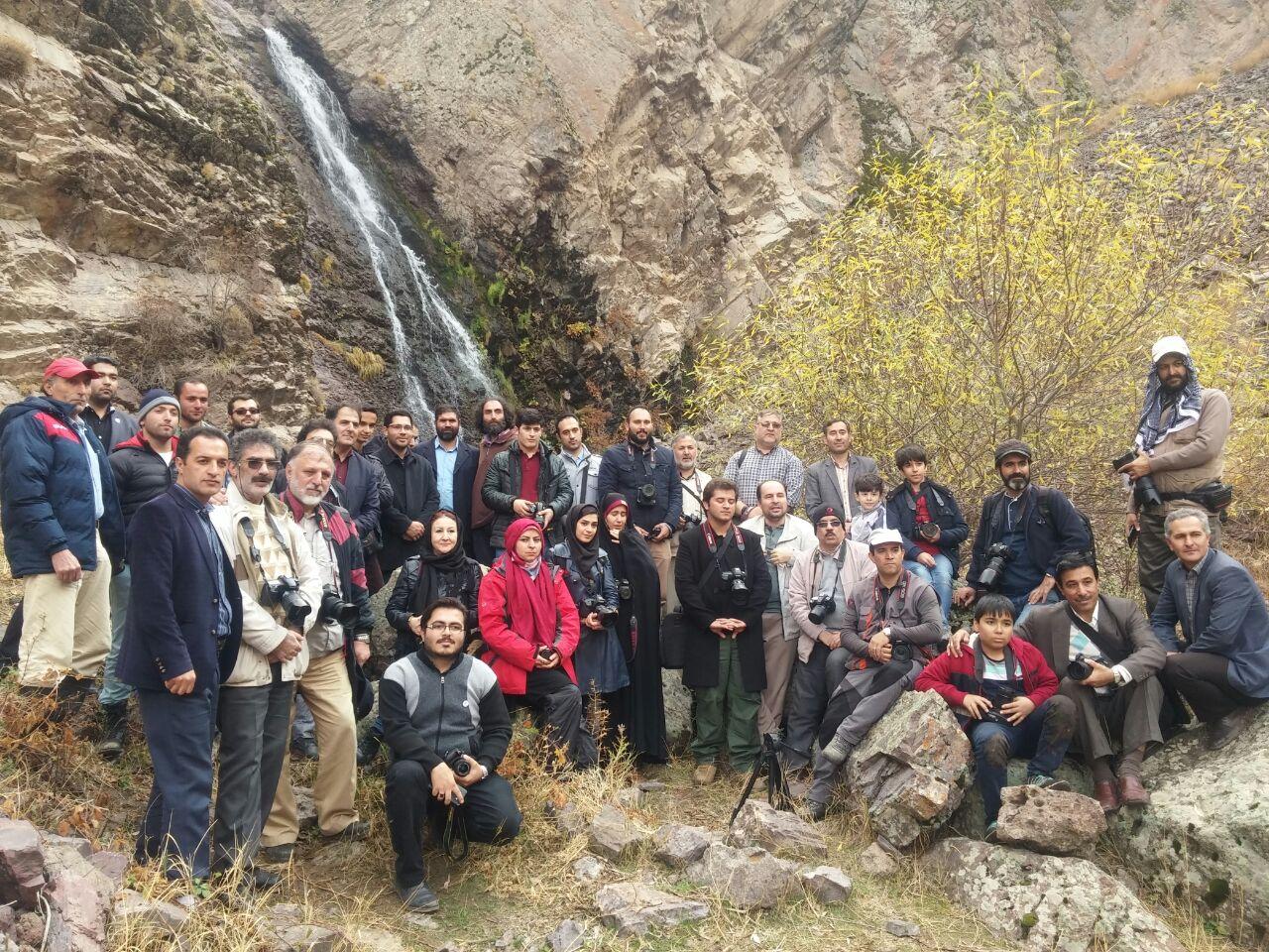 برگزاری تور یک روزه عکاسی با همکاری شهرداری و شورای اسلامی ترک