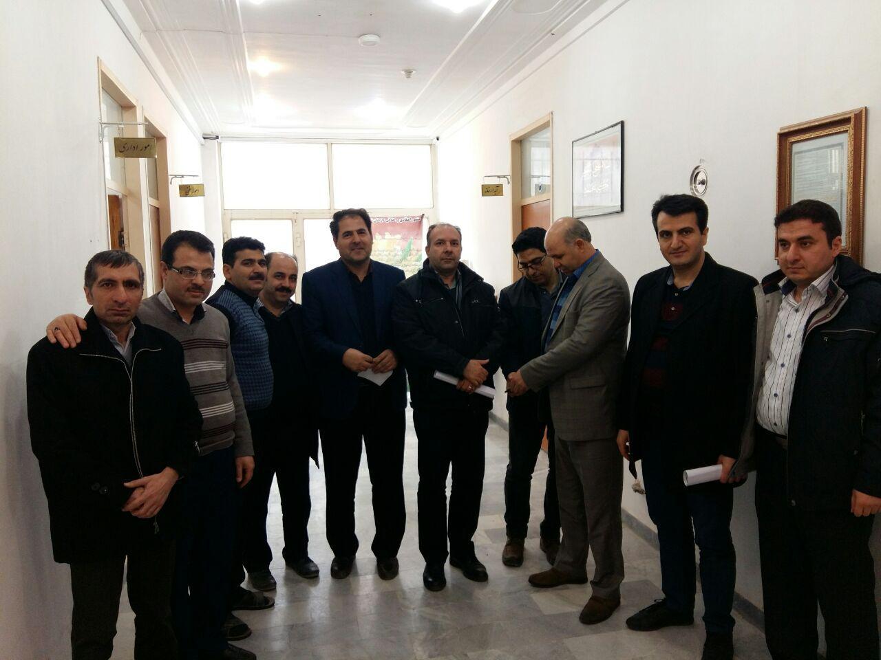 بازدید بازرسان استانداری از شهرداری ترک