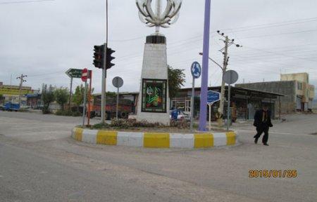 نصب تابلو های راهنمائی و رانندگی در سطح شهر