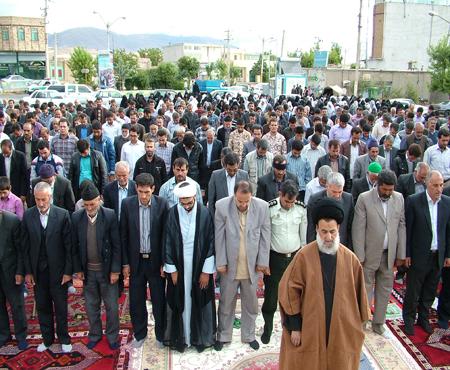 برگزاری نماز عید فطر سال 95 با امامت آیت الله سید جعفر میرعظیمی