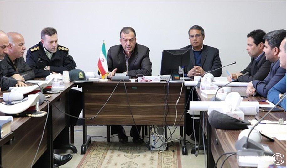 جلسه شورای ترافیک  اصلاح هندسی معابر