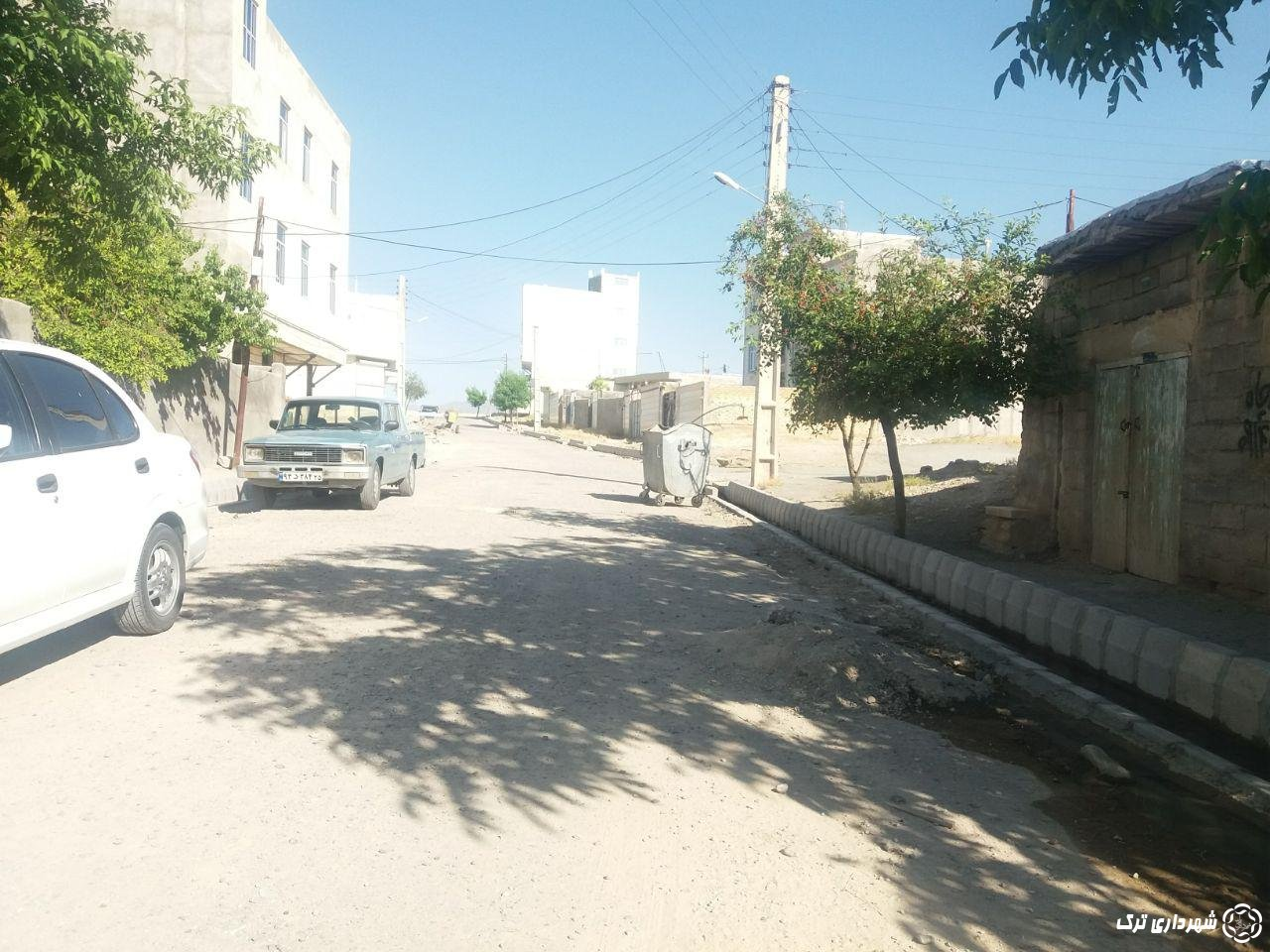 پایان پروژه جدول کشی و جوب کشی خیابان شهید میرعظیمی