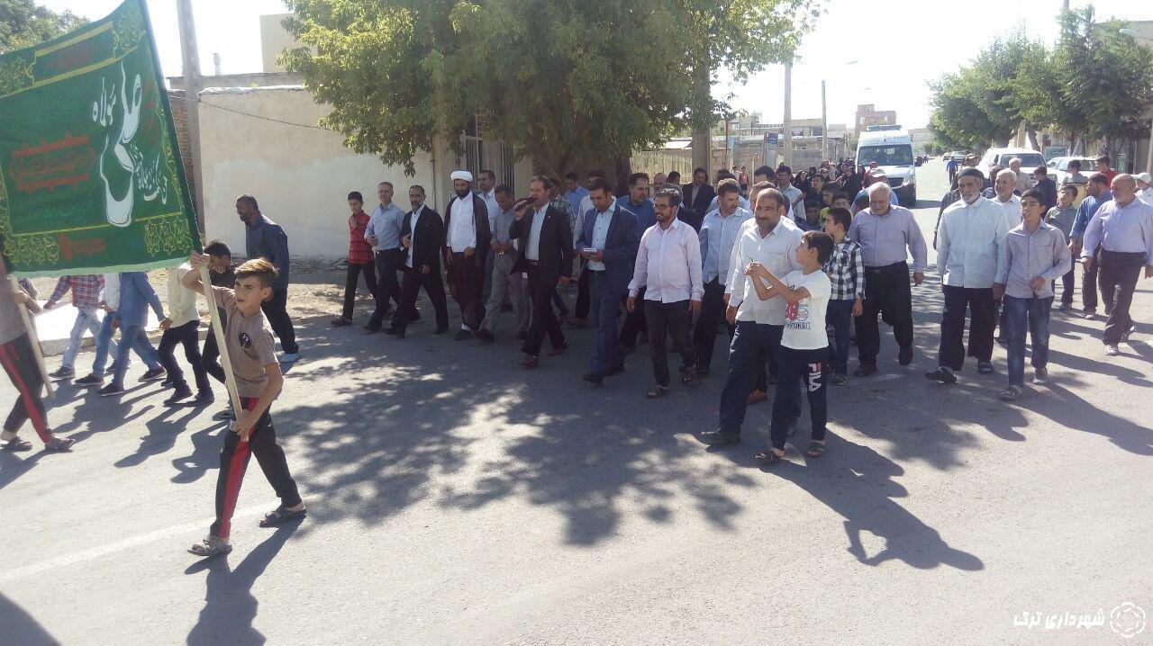 تصاویر پیاده روی همگانی و جشن عید غدیر خم